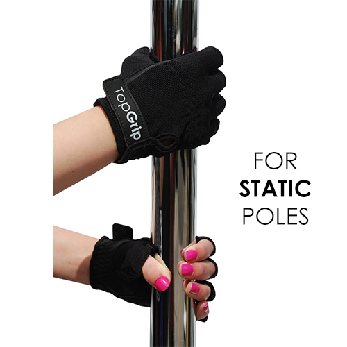TopGrip Gloves for Static Poles (Non-Tack)